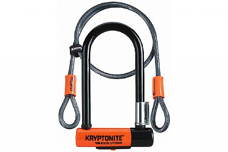 Kryptonite Evolution Mini-7 with 4' Flex Cable